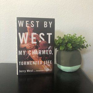 Other - Los Angeles Lakers West by West Jerry West Book